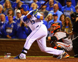 Salvador Perez Game 2 of the 2014 World Series Action Photo