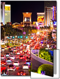 The Strip - Las Vegas - Nevada - United States Posters by Philippe Hugonnard