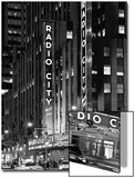 Radio City Music Hall - Manhattan - New York City - United States Print by Philippe Hugonnard