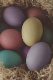 Painted Easter Eggs Nesting - Cross Processed Photographic Print by  frannyanne