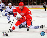 Justin Abdelkader 2014-15 Action Photo