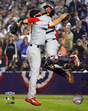 Adam Wainwright / Yadier Molina - '06 NLCS Game 7 Photo