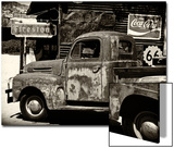 Truck - Route 66 - Gas Station - Arizona - United States Art by Philippe Hugonnard