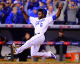 Lorenzo Cain Game 2 of the 2014 World Series Action Photo