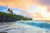 Tropical Sunset Seascape Photographic Print by M Sweet
