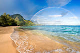 Rainbow Paradise Beach Photographic Print by M Swiet Productions