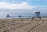 Usa, California, Huntington Beach Pier Photographic Print by Sergio Pitamitz