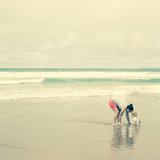 Mother and Child by the Seaside Photographic Print by Constance Fein Harding