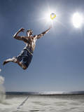 Male Beach Volleyball Photographic Print by Patrik Giardino