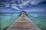 Pier to Paradise Photographic Print by Timothy Corbin