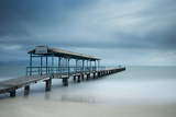 Wooden Jetty, Florianopolis, Santa Catarina, Brazil Photographic Print by  JW