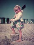 Beach Baby Photographic Print by  Keystone