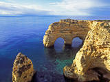 Praia Da Marinha, Algarve, Portugal Photographic Print by Hans-Peter Merten