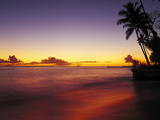 Sunset at Oahu Photographic Print by Brian Lawrence