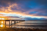 Jetty at Sunrise Photographic Print by Jacqui Barker