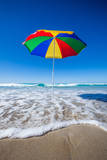 Umbrella at the Beach Photographic Print by John White Photos