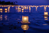 Japanese Floating Lanterns Photographic Print by Julie Thurston