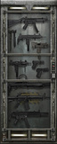 Armory Door Decal Wall Decal