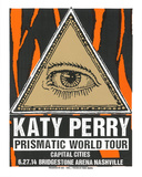 Katy Perry Serigraph by  Print Mafia