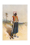West India Regiment Giclee Print by G.d. Giles