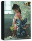 Ohana Means Family キャンバスプリント限定版 : ヘザー・シューラー