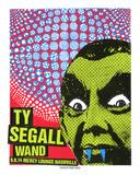 Ty Segall Silketrykk av  Print Mafia