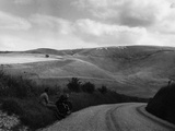 Uffington White Horse Photographic Print by Fred Musto