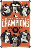 San Francisco Giants - 2014 World Series Champions Plakater