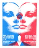 Arcade Fire Serigraph by  Print Mafia