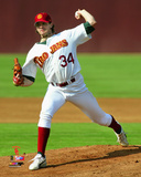 Barry Zito USC Trojans 2005 Action Photo