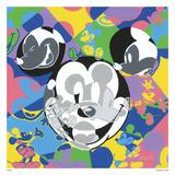 Multi-Mickey コレクターズプリント : テネシー・ラヴレス
