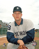 Mickey Lolich Posed Photo
