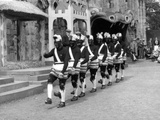 Bacup Coconut Dancers Photographic Print by Fred Musto