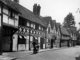 Tudor Town Houses Photographic Print by Fred Musto
