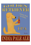 Golden Retriever India Pale Ale Collectable Print by Ken Bailey