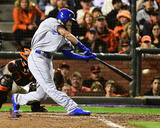Eric Hosmer Game 3 of the 2014 World Series Action Photo