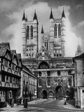 Lincoln Cathedral Photographic Print by Fred Musto