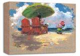 Shorefront Hula キャンバスプリント限定版 : ジェームス・コールマン