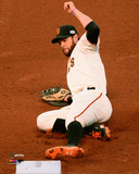 Brandon Belt Game 5 of the 2014 World Series Action Photo