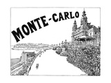 Monte Carlo Advert Giclee Print by G Renault
