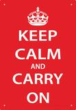Keep Calm Tin Sign Plechová cedule