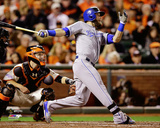 Alex Gordon Game 3 of the 2014 World Series Action Photo