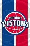 Detroit Pistons - Logo 14 Affiches