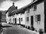 Devonshire Cottages Photographic Print by Fred Musto