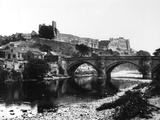 Richmond Castle Photographic Print by Fred Musto