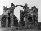 Lindisfarne Priory Photographic Print by Fred Musto