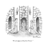 """We can't all go as Elsa from 'Frozen.' "" - New Yorker Cartoon Premium Giclee Print by David Borchart"