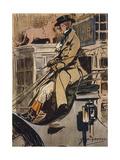 Amateur Coach Driver Giclee Print by G Denholm Armour