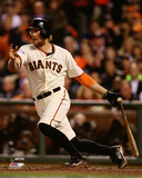 Hunter Pence Game 4 of the 2014 World Series Action Photo