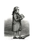 Edward Gibbon, Brighty Giclee Print by G M Brighty